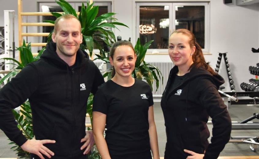 Sportakademie Baumann - Jackie Maria Schweda, Chantal & Robin Baumann