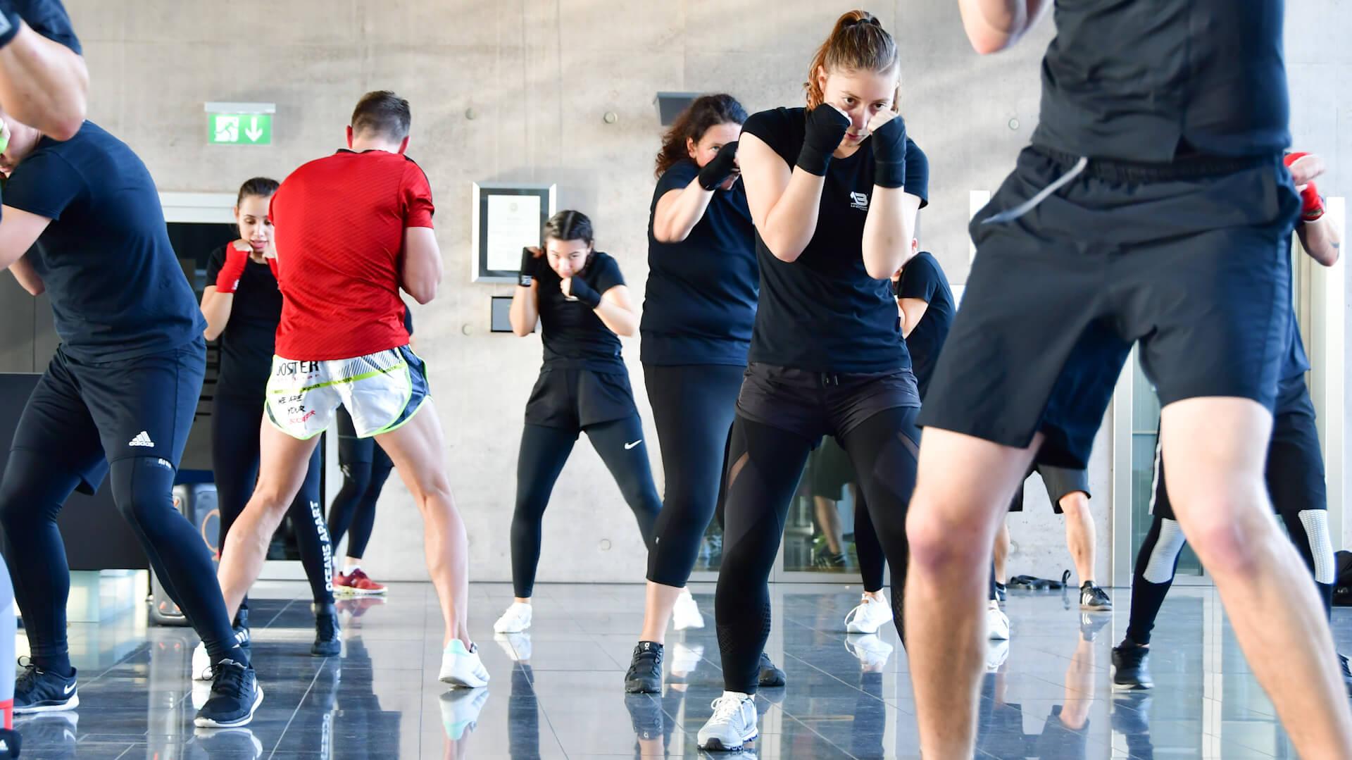 Sportakademie Baumann Kickboxen Basics
